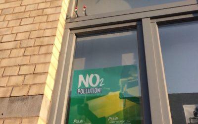 La qualité de l'air dans nos quartiers.